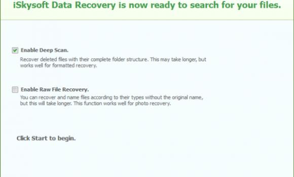 iSkysoft Data Recovery Ekran Görüntüleri - 5