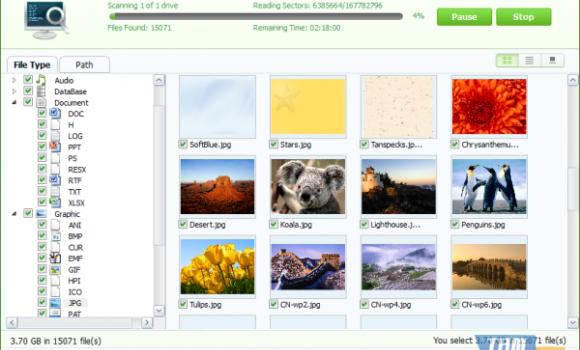 iSkysoft Data Recovery Ekran Görüntüleri - 8