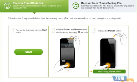 iSkysoft Free iPhone Data Recovery Ekran Görüntüleri - 5