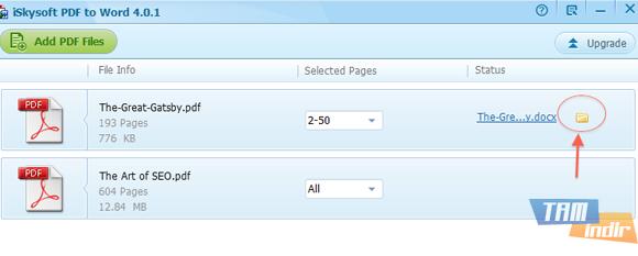 iSkysoft PDF to Word Converter Ekran Görüntüleri - 1