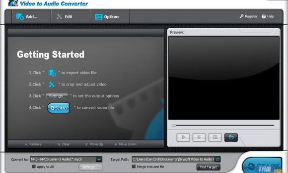 iSkysoft Video to Audio Converter Ekran Görüntüleri - 3