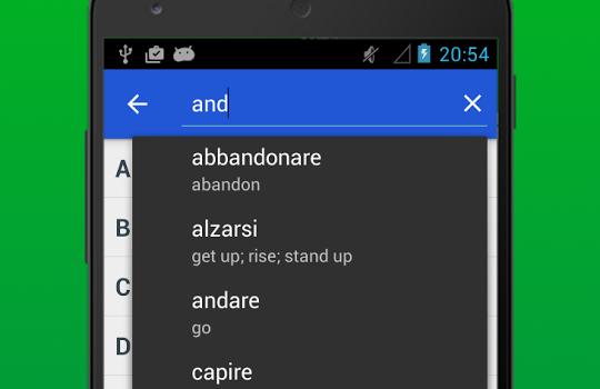 Italian Verb Conjugator Ekran Görüntüleri - 2