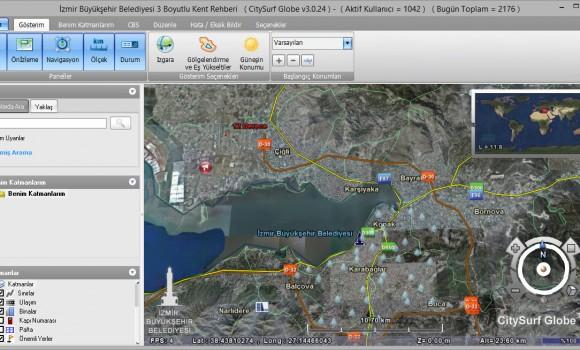İzmir 3 Boyutlu Kent Rehberi Ekran Görüntüleri - 3