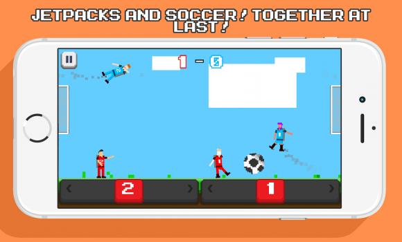Jetpack Soccer Ekran Görüntüleri - 5