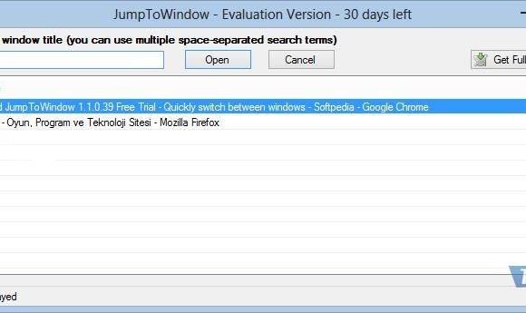 JumpToWindow Ekran Görüntüleri - 1