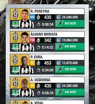 Juventus Fantasy Manager 2015 Ekran Görüntüleri - 1