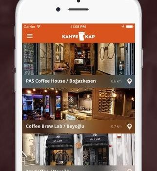 Kahve Kap Ekran Görüntüleri - 4