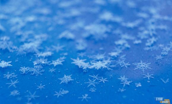 Kar Taneleri ve Buz Teması Ekran Görüntüleri - 1