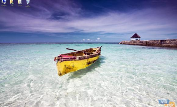 Karayip Kıyıları Teması Ekran Görüntüleri - 2