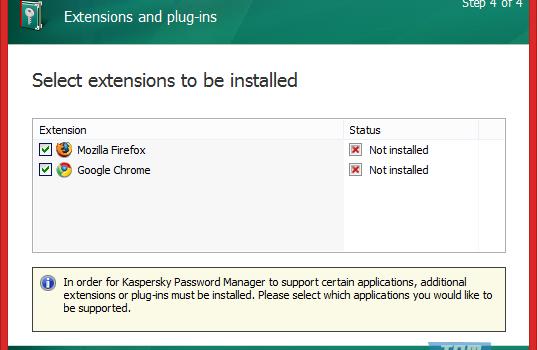 Kaspersky Password Manager Ekran Görüntüleri - 1