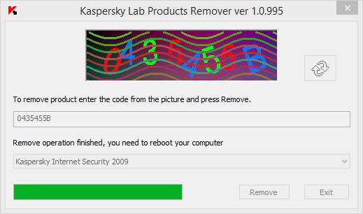 Kaspersky Products Remover Ekran Görüntüleri - 1