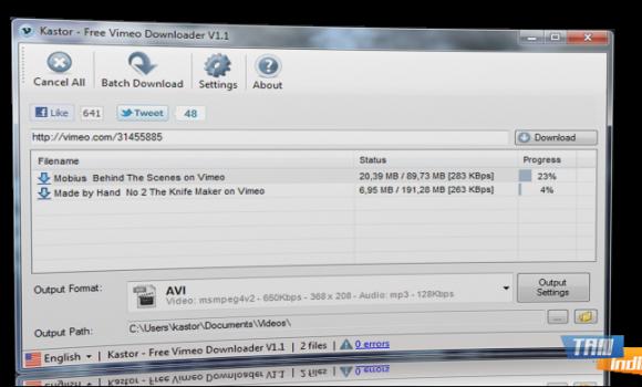 Kastor - Free Vimeo Downloader Ekran Görüntüleri - 2