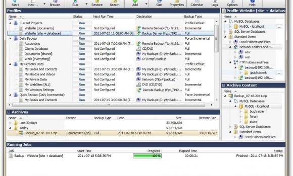 KLS Backup Professional Ekran Görüntüleri - 3