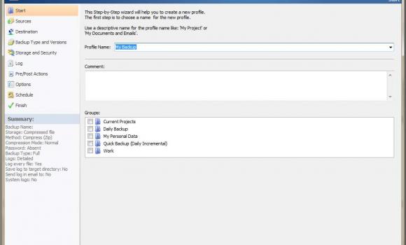 KLS Backup Standart Ekran Görüntüleri - 3
