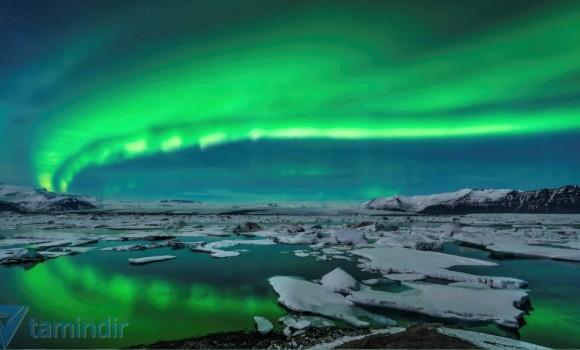 Kuzey Işıkları Teması Ekran Görüntüleri - 2