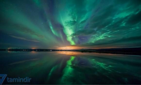 Kuzey Işıkları Teması Ekran Görüntüleri - 1