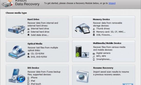 Kvisoft Data Recovery Ekran Görüntüleri - 2