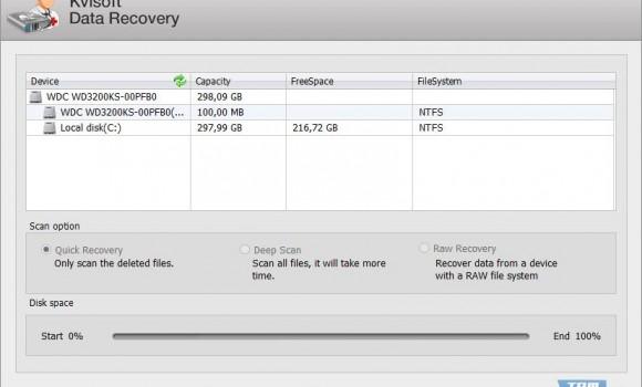 Kvisoft Data Recovery Ekran Görüntüleri - 1
