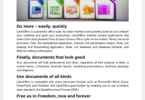 LibreOffice Viewer Ekran Görüntüleri - 2