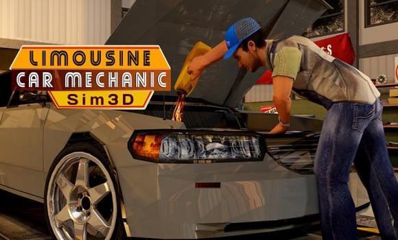 Limousine Car Mechanic 3D Sim Ekran Görüntüleri - 7
