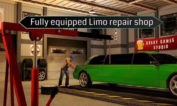 Limousine Car Mechanic 3D Sim Ekran Görüntüleri - 3