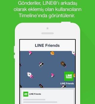 LINE@ Ekran Görüntüleri - 1