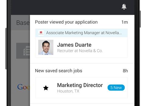 LinkedIn Job Search Ekran Görüntüleri - 1