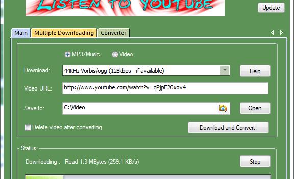 Listen to YouTube Ekran Görüntüleri - 1