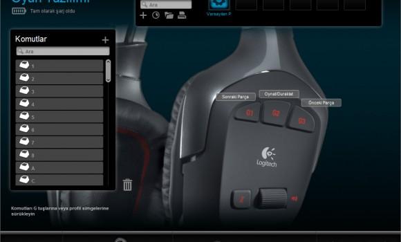 Logitech G930 Sürücüsü Ekran Görüntüleri - 4