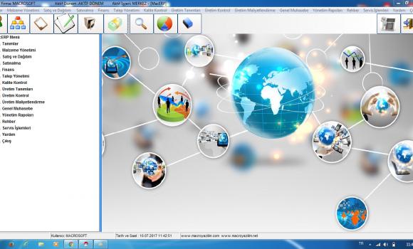 MacroSoft ERP Enterprise Resource Planning Ekran Görüntüleri - 2