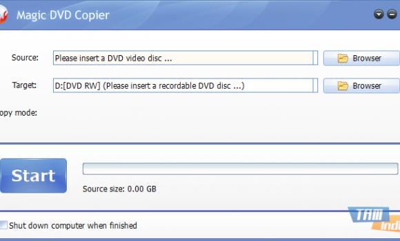Magic DVD Copier Ekran Görüntüleri - 4