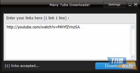 Many Tube Downloader Ekran Görüntüleri - 3