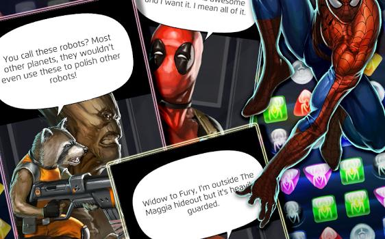 Marvel Puzzle Quest Ekran Görüntüleri - 2