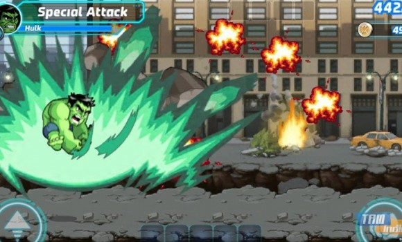Marvel Run Jump Smash! Ekran Görüntüleri - 3