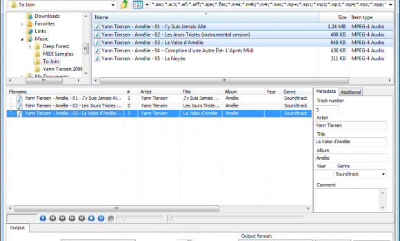 Merge MP3 Ekran Görüntüleri - 1