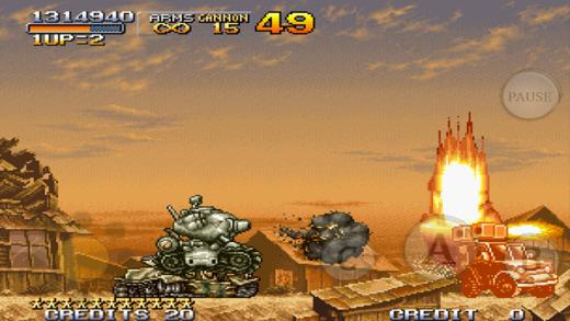 METAL SLUG 2 Ekran Görüntüleri - 2