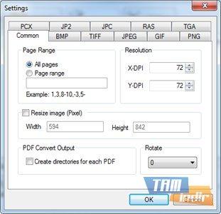 Mgosoft PDF To IMAGE Converter Ekran Görüntüleri - 4