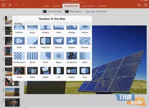 Microsoft PowerPoint for iPad Ekran Görüntüleri - 3