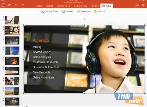 Microsoft PowerPoint for iPad Ekran Görüntüleri - 2
