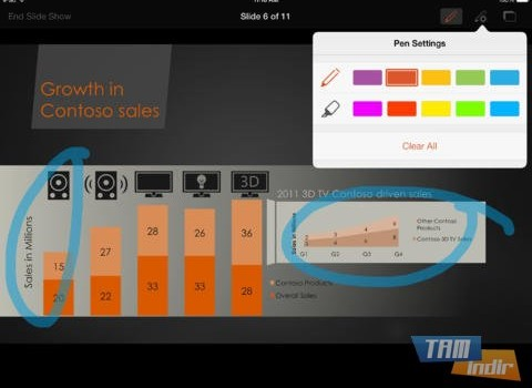 Microsoft PowerPoint for iPad Ekran Görüntüleri - 1