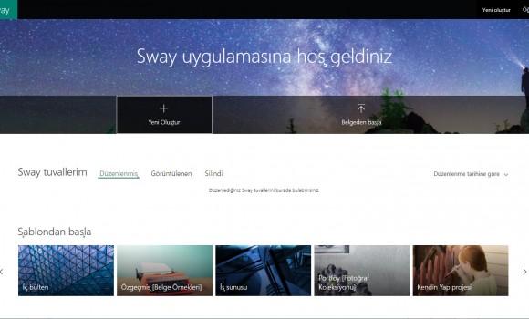 Microsoft Sway Online Ekran Görüntüleri - 3