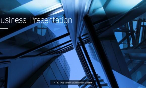 Microsoft Sway Online Ekran Görüntüleri - 2