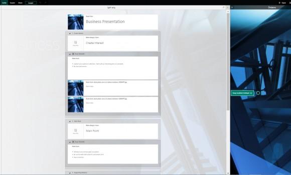 Microsoft Sway Online Ekran Görüntüleri - 1