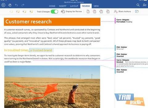 Microsoft Word for iPad Ekran Görüntüleri - 3