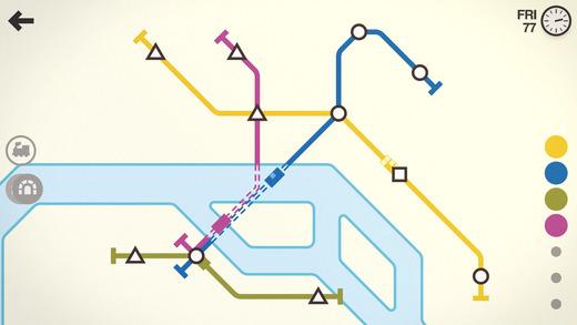 Mini Metro Ekran Görüntüleri - 4