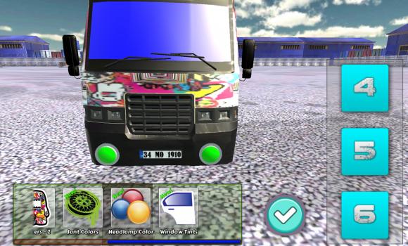 Minibüs Drift ve Modifiye 3D Ekran Görüntüleri - 4