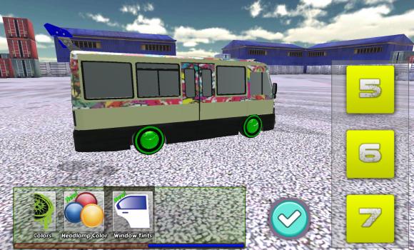 Minibüs Drift ve Modifiye 3D Ekran Görüntüleri - 3