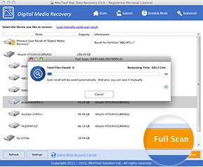 MiniTool Mac Data Recovery Ekran Görüntüleri - 2