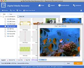 MiniTool Mac Data Recovery Ekran Görüntüleri - 1