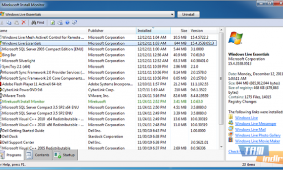 Mirekusoft Install Monitor Ekran Görüntüleri - 3